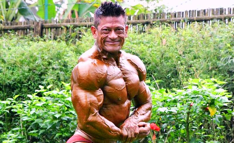 Kushal Changmai - bodybuilder from Assam