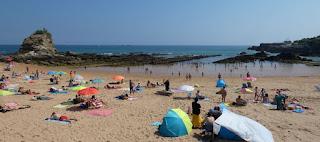 Santander, Playa del Camello.
