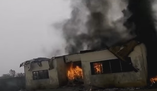 fire inec office ebonyi