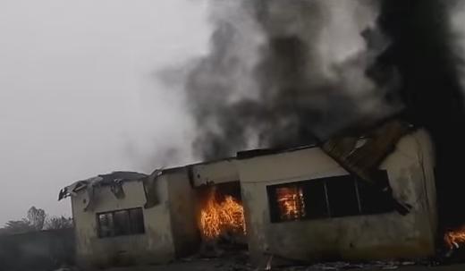 fire inec office ebonyi