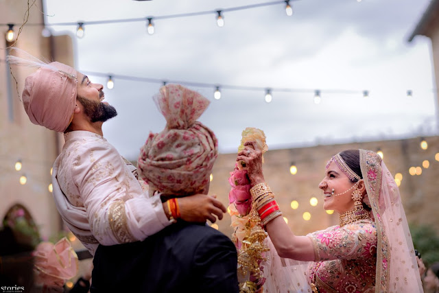 Virat Kohli and Anushka Sharma Wedding Ceremony Photos