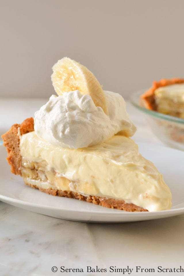 Banana Pudding Cheesecake by serenabakessimplyfromscratch.com
