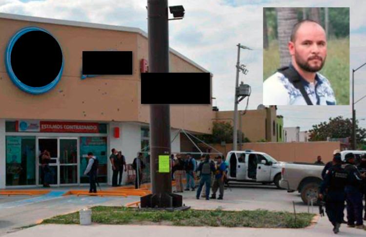 Sicarios del Cártel del Golfo con mala puntería rafaguean a Ministeriales en Reynosa