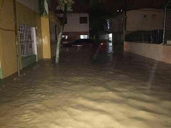 Puerto Plata inundada nuevamente