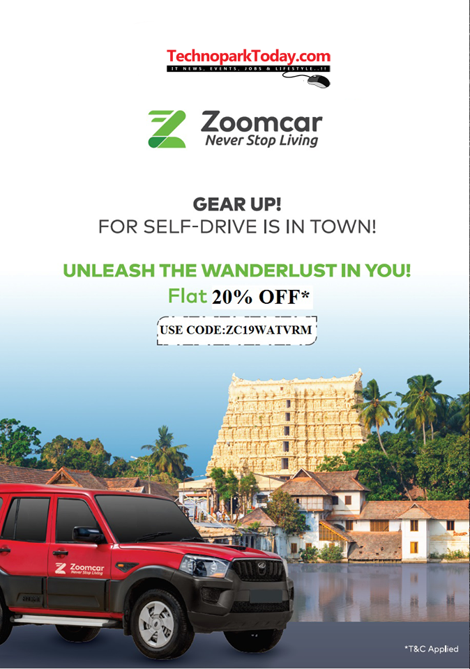zoomcar booking trivandrum