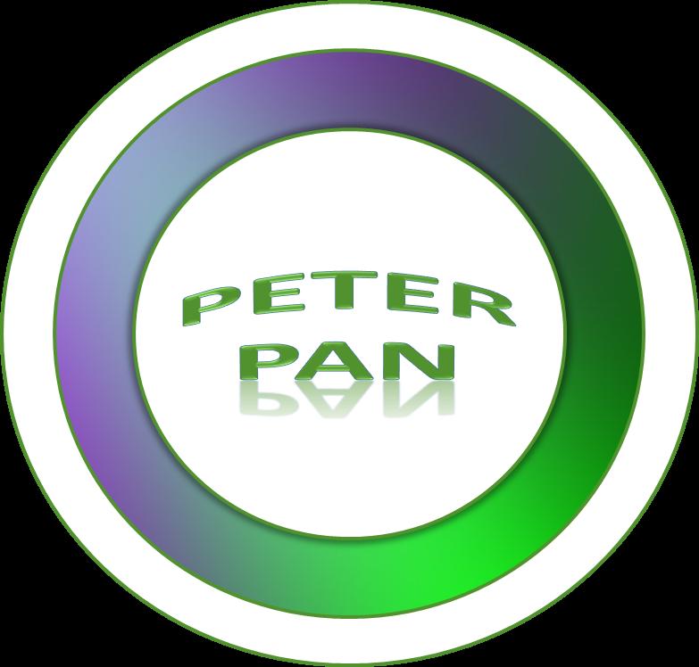 Toppers o Etiquetas de Peter Pan para imprimir gratis.