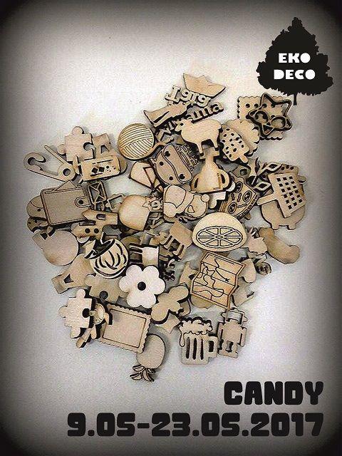 205. Candy wieloetapowe Eko-Deco :)