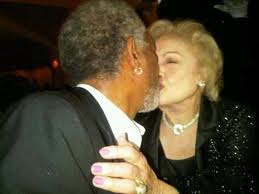 Betty White & Morgan Freeman