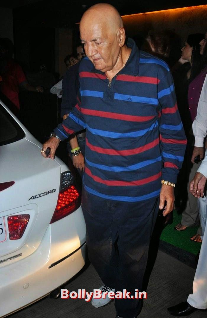 Prem Chopra, 'Humshakals' Movie Special Screening Pics
