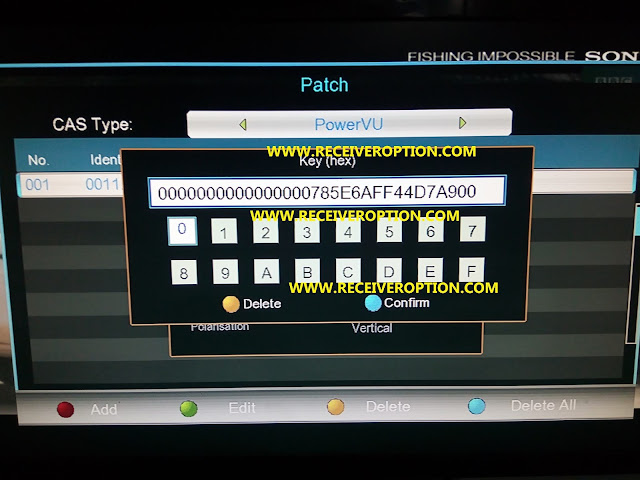 ALL MULTI MEDIA CONVERT 1506G T0 1507G WITH NEW POWERVU KEY OK SOFTWARE