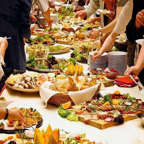Wedding Food Buffet Menus: CooLingerie