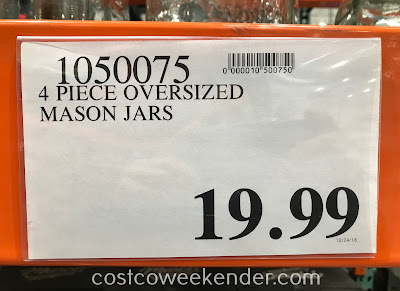 Deal for the Mason Craft & More 4-piece Glass Canister Set at Costco