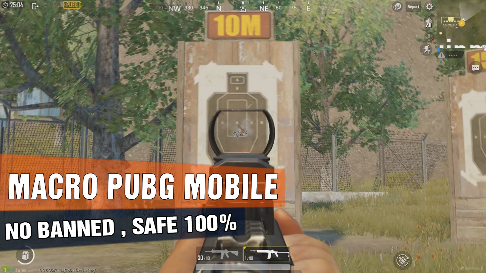 MACRO PUBG MOBILE ANTI - RECOIL , NO RECOIL | TENCENT