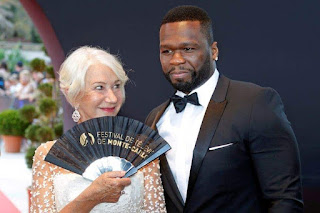 Rapper 50 cent and actress Helen Mirren