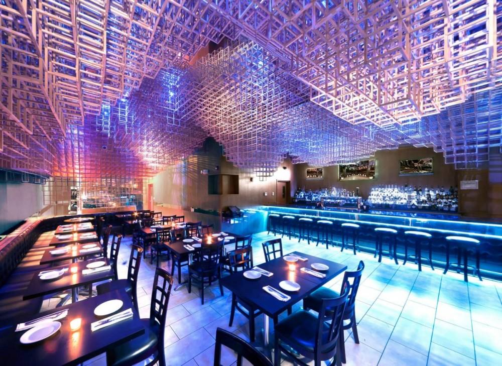 Marzua: Instalación Restaurant Innuendo Por Bluarch