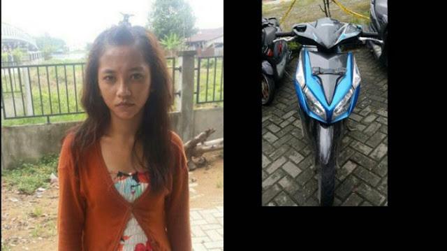 Gadis Ini Nekat Curi Motor untuk Beli Sabu-sabu, Apesnya Tertangkap Polisi!