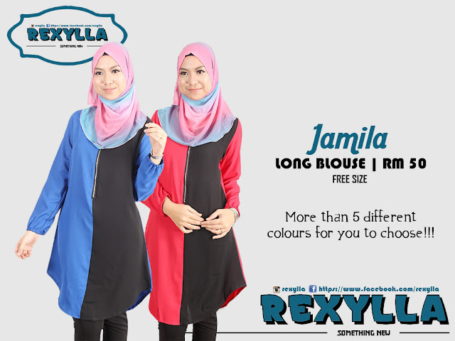rexylla, long blouse, bf friendly, jamila collection