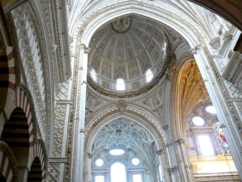 Interior de la catedral de Córdoba