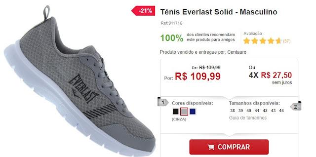 Clique na imagem para comprar o tênis na Centauro!