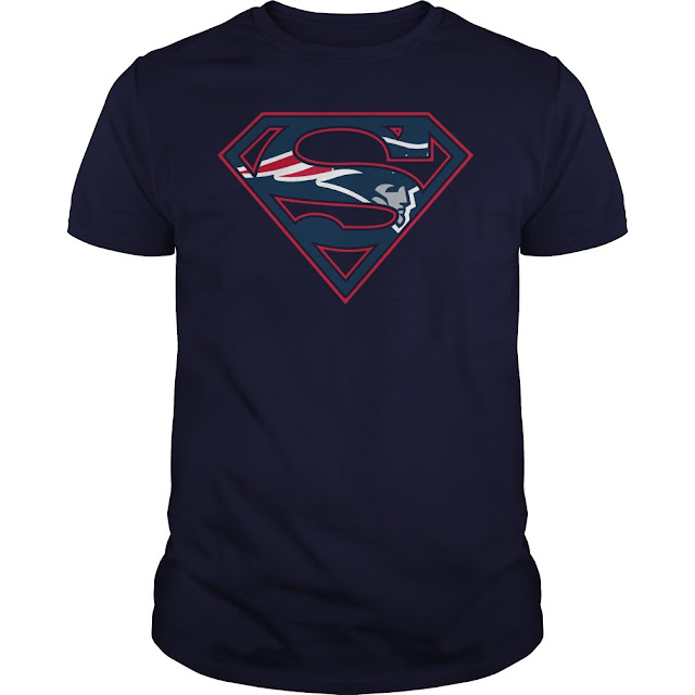 New England Patriots Superman Logo Shirt