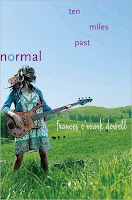 book cover of Ten Miles Past Normal by Frances O'Roark Dowell published by Atheneum Books for Young Readers
