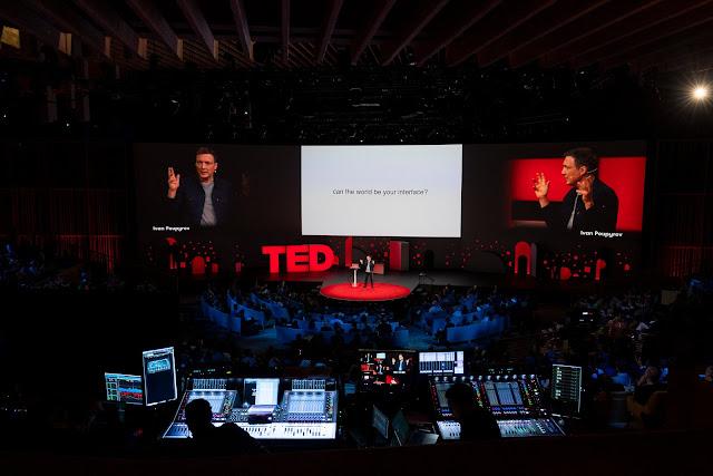 جاكار مشروع جوجل يجعل العودة في TED Talk