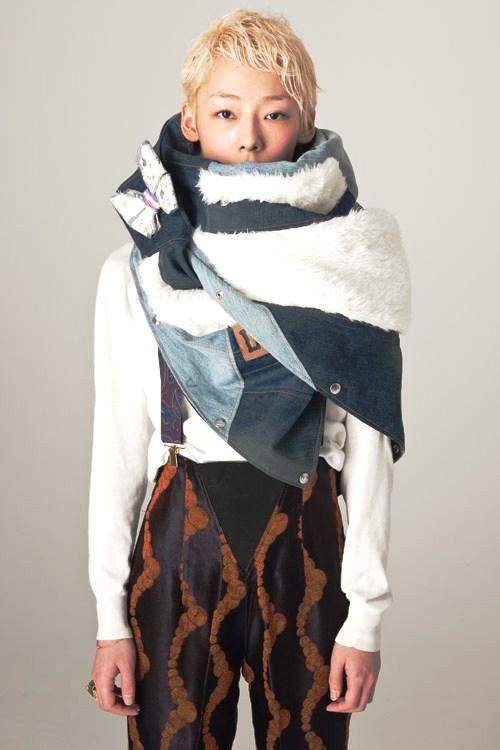 Bunka Fashion College Student W Pink Boots 6 Dokidoki: Extrim Blogs: Isetan, Japan × Bunka Fashion College × SO-EN