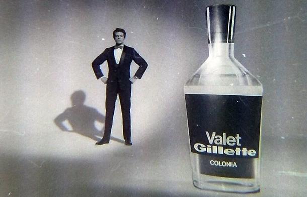 Publicidad de la colonia Valet