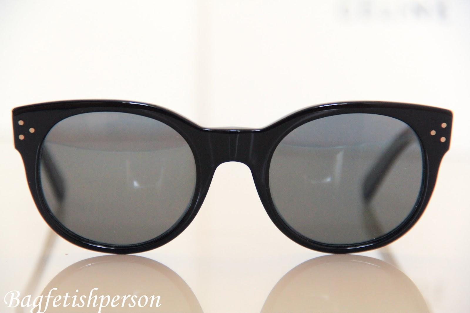 26c4e91704cd bagfetishperson  Celine Audrey sunglasses