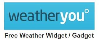 cara membuat widget prakiraan cuaca di blog
