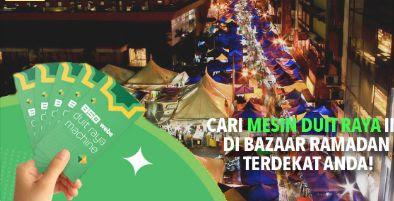 Cari Duit Raya RM 85k Di Bazaar Ramadhan