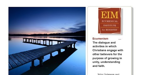 An Ecumenical Workshop on Being and Doing Church
