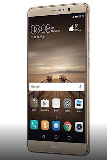 Cara mengambil screenshot pada Huawei Mate 9 menggunakan tombol perangkat keras / hardware