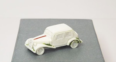 WWII French Staff Car from Pendraken Miniatures