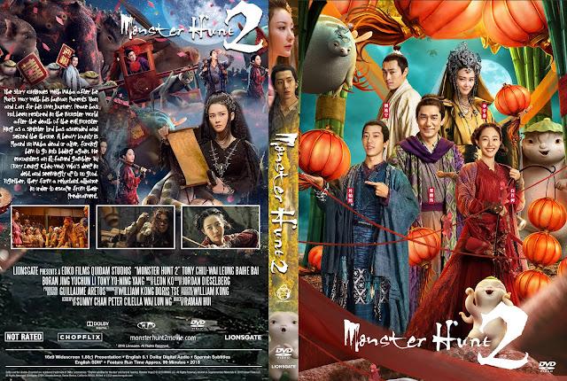Monster Hunt 2 DVD Cover
