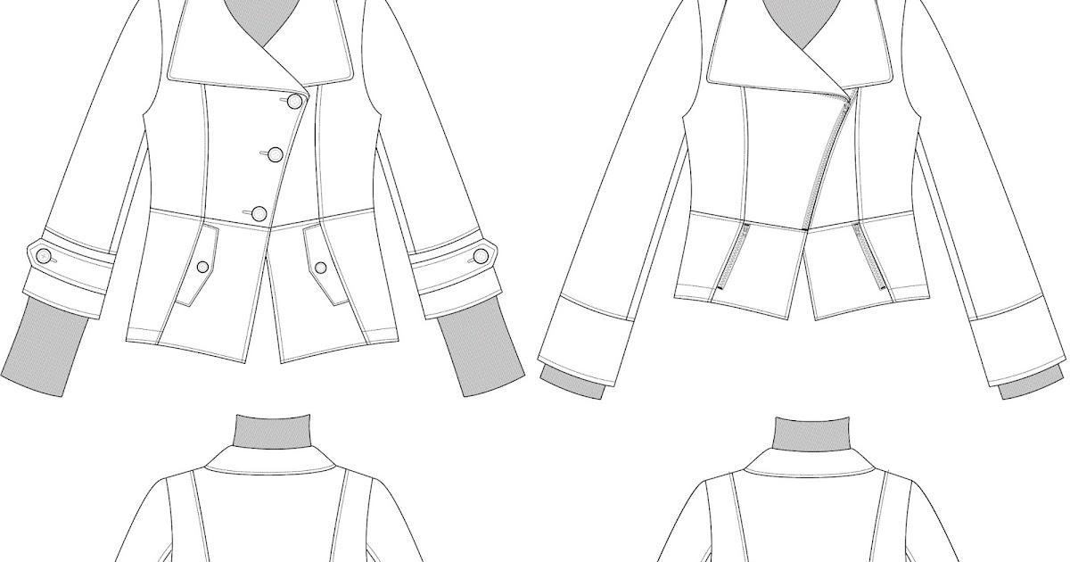 Rock the Stitch: Aberdeen Jacket pattern