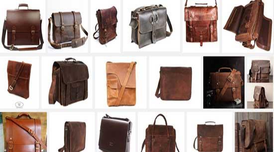 Model tas kerja tote Bag Pria