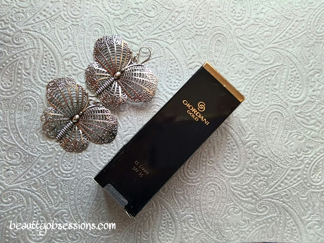 Oriflame Geordani Gold CC Cream With SPF35 In Shade ' NATURAL' - Review & Swatches