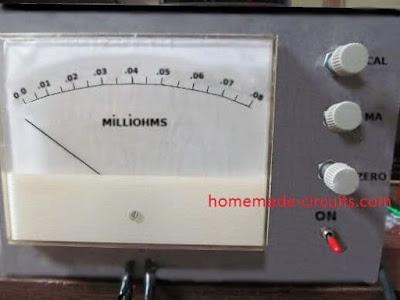 milliohm tester prototype image