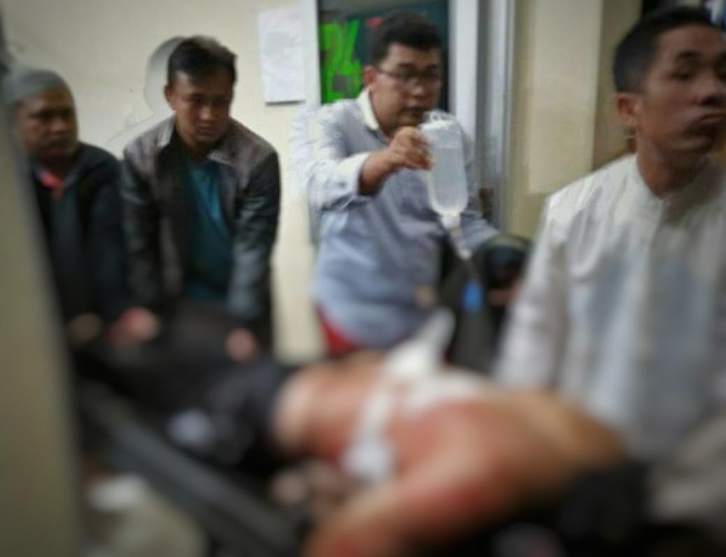 Sadis ! Kepala BPP Kebuntebu Dibacok Bertubi-Tubi Oleh Orang Tak Dikenal