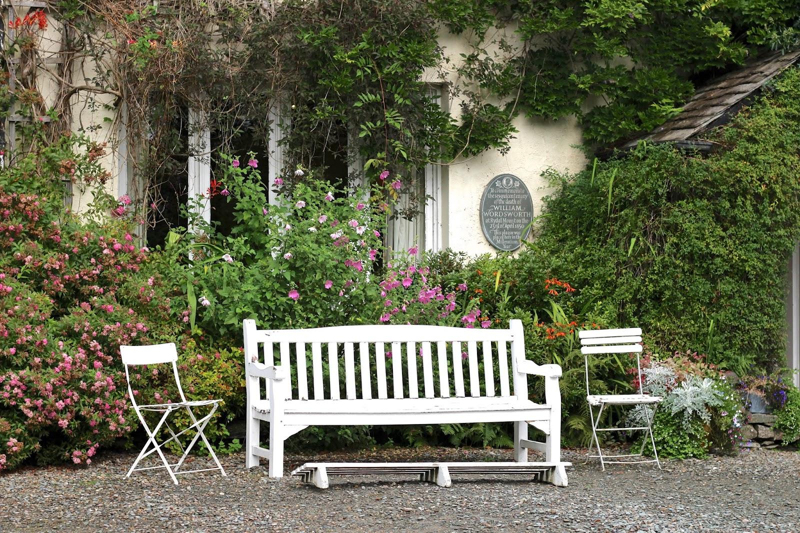 Rydal Mount picturesque home of William Wordsworth