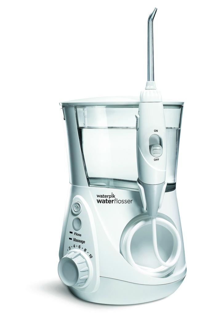Cleaner Teeth Healthier Heart With Waterpik Aquarius