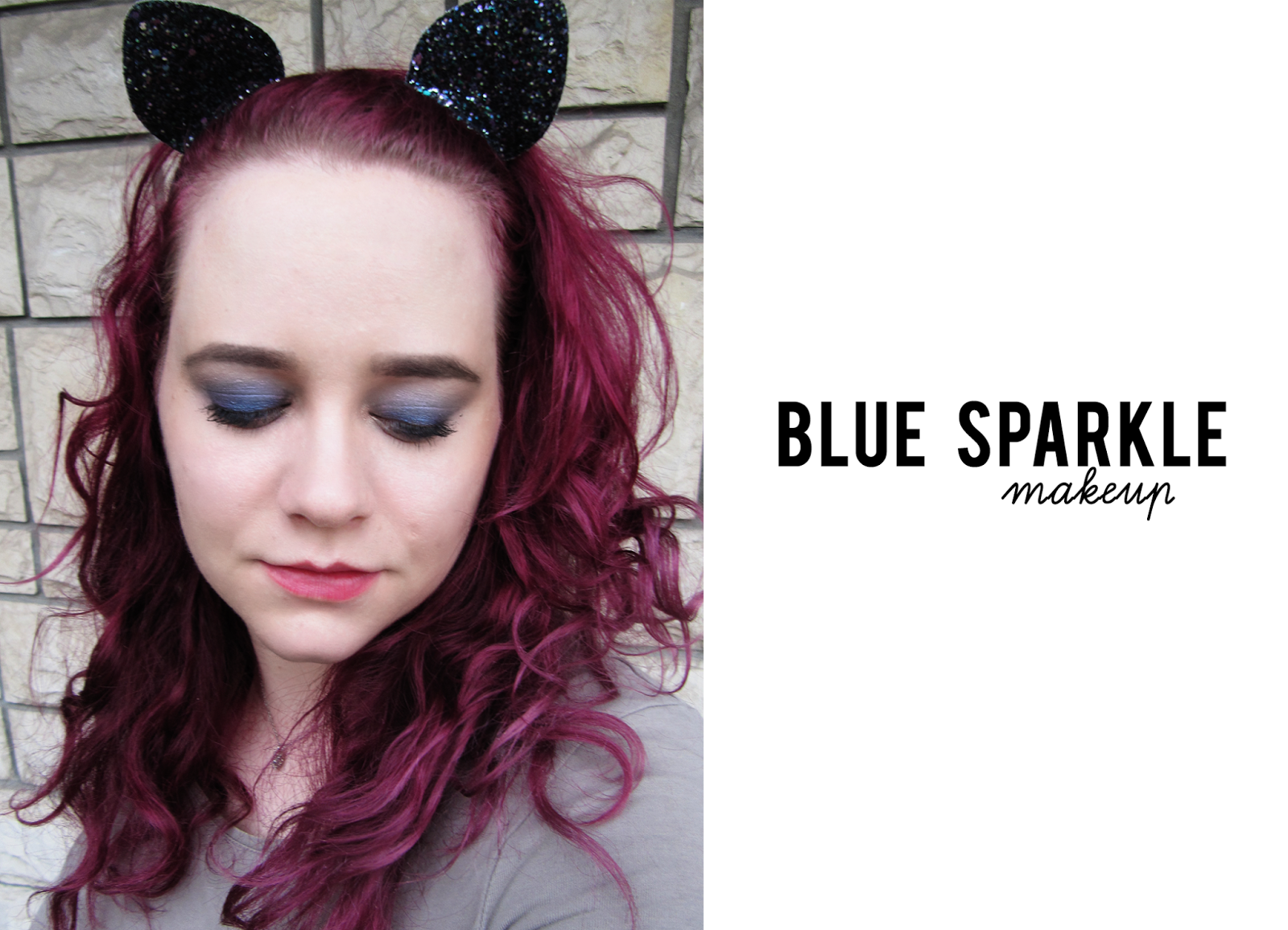 NYOL Blue Sparkle Makeup