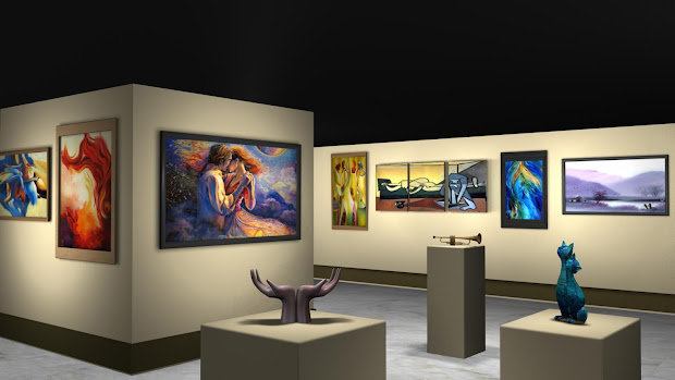 Indirect Lighting Art Gallery
