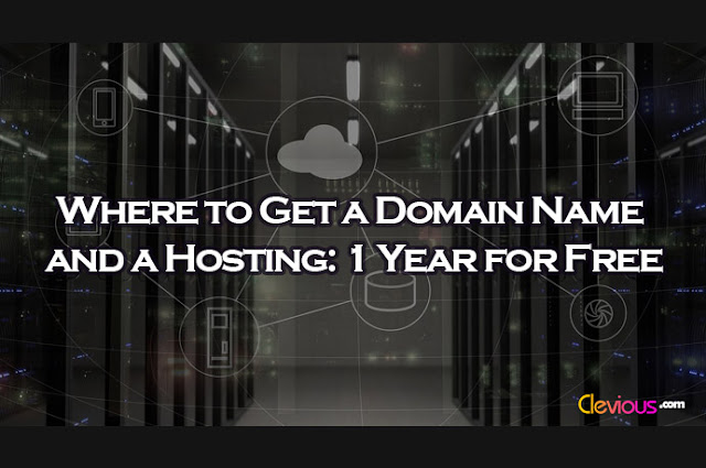 Get a Domain Name and a Hosting - Clevious