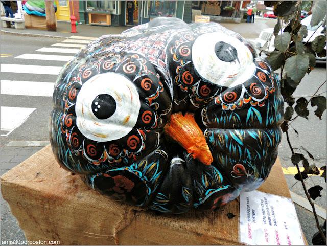 Calabazas Decoradas para Halloween: Búho