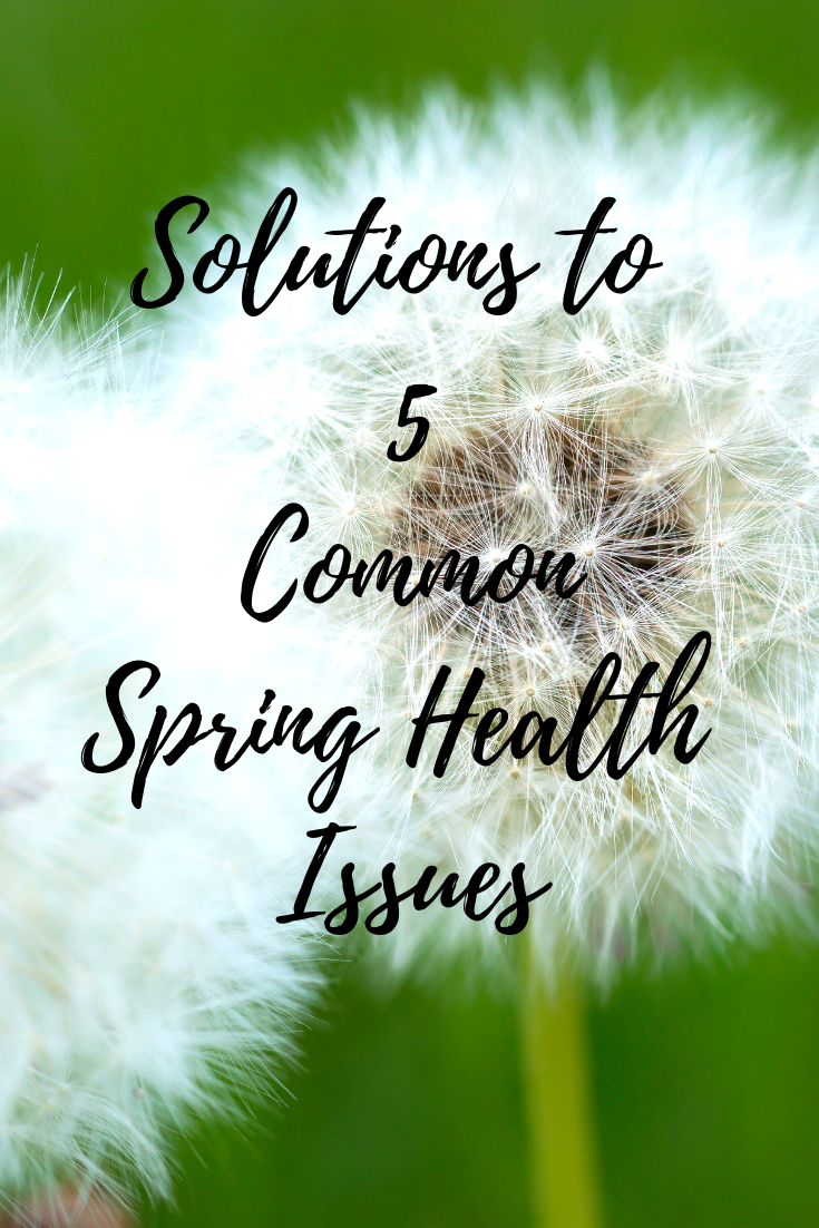 Solutions to 5 Common Spring Health Issues