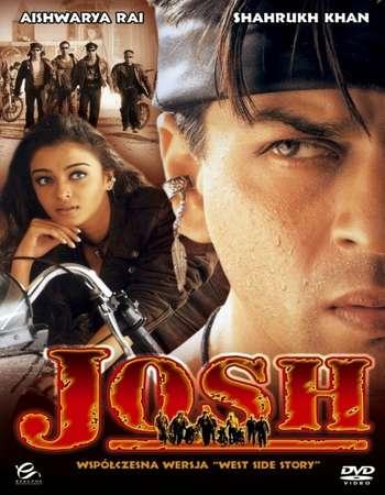 Poster Of Josh 2000 Hindi Movie 700MB DVDRip 720p ESubs HEVC Watch Online Free Download downloadhub.net