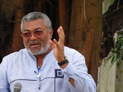 CUT RED HANDED! Jerry Rawlings Lambasts Nigerian Government- The Video Evidence (WATCH)