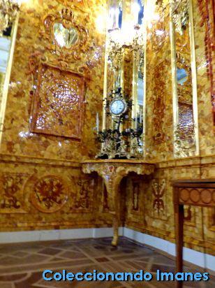 Salón de Ámbar Palacio de Catalina de Pushkin